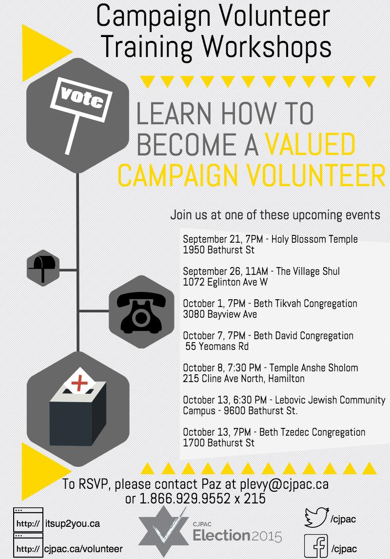 Campaign Volunteer Training Workshops Final Version (2)